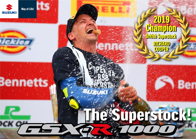 Richard Cooper-GSX-R1000 Superstock Wallpaper-2