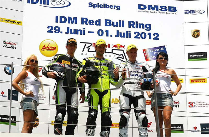 IDM-4- Supersport-Podium