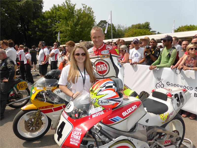 2013-Kevin Schwantz-Goodwood