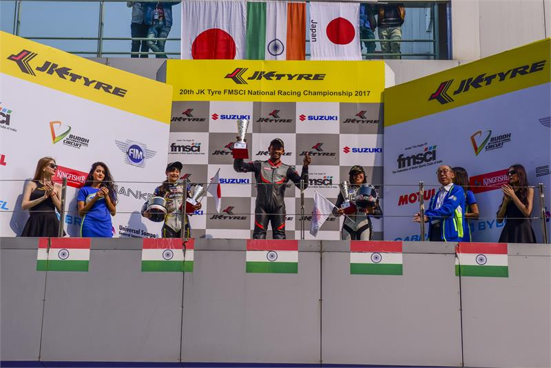 GIXXER Cup-4-ASIA CUP OF ROAD RACING PODIUM