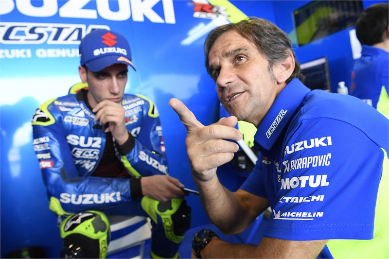 Buriram Test - Alex Rins-16